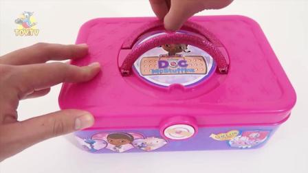 小医生麦芬医药箱玩具  阿莲 小龙 海莉