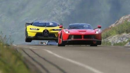 布加迪视觉GT与超级汽车, 你认为这是一场游戏。这是真正的竞赛
