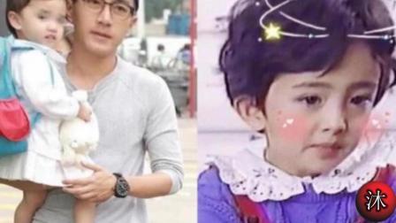 杨幂刘恺威4岁女儿近照曝光, 原来长这样, 难怪迟迟不愿公开!