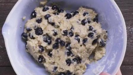 1分钟学会蓝莓蛋糕做法, 自己买材料真实惠, 比外面卖的便宜两倍