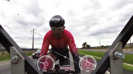 牛人骑自行车, 蹬出202km每小时的神速, 网友: 超速