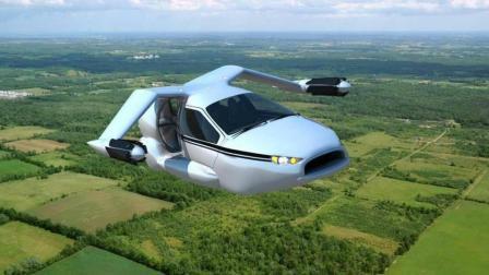 """中国吉利汽车, 发明世界首款""""飞行汽车""""40秒变飞机, 最高时速320, 上班不怕迟到"""