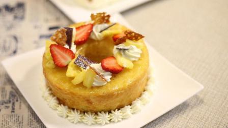 凉意渐浓的秋天, 需要一款甜滋滋的菠萝蛋糕温暖你!