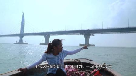 世界最长港珠澳大桥全长55公里, 1个桥墩大过篮球场, 太壮观了