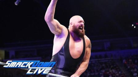 【SD 10/09】WWE最凶猛的巨人之一大秀哥 致命铁拳大杀四方