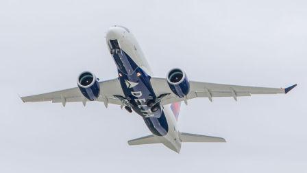 达美航空A220首飞回顾