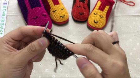 第四集, 拖鞋侧面加针, 每个步骤清晰, 新手易学习, 手工拖鞋