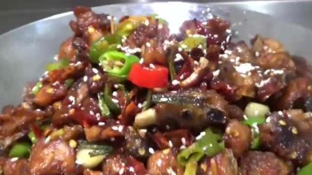 大厨教你在家做干锅鸡, 比红烧鸡辣子鸡好吃多了, 做法很简单!