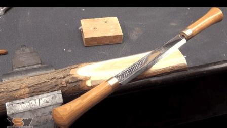 手工达人教你制作一把锋利的木工刮刀