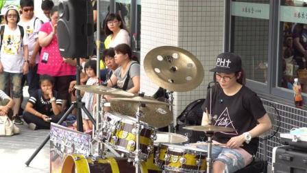 罗小白架子鼓演奏烟鬼热单《Closer》, 超带感!