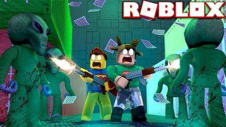 小格解说 Roblox 外星设施大亨: 大战疯狂外星人! 外星人也会变异? 乐高小游戏