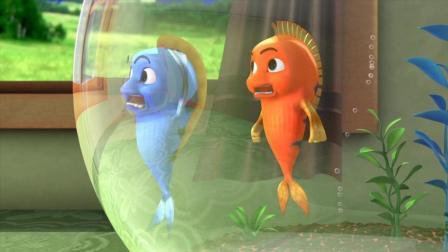 跳跳鱼世界 第28集 从未见识过的大胃王