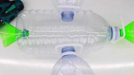 5L的塑料瓶扔了简直就是扔钱, 牛人做成这个工具