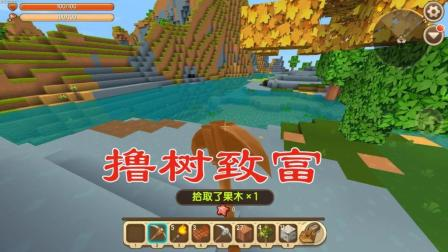 迷你世界孤独城堡2 大自然鬼斧神工, 江叔就在这里建家