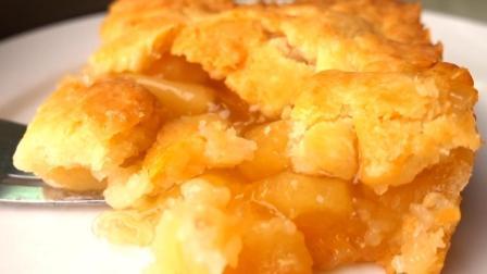 不用黄油, 自制外酥里软的苹果派, 比麦当劳做的还好吃