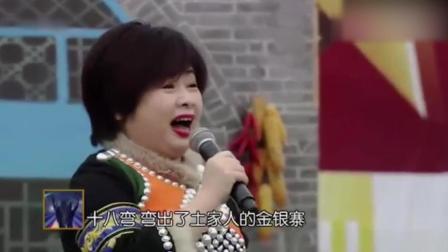 李琼演唱成名曲《山路十八弯》一开口全场叫好, 还是那经典的歌声