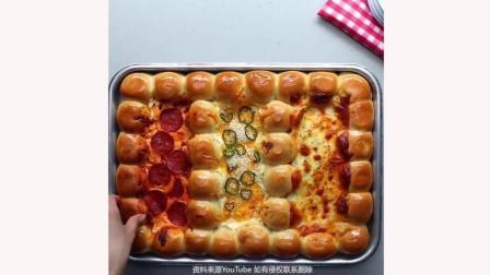 有哪些自己就可以做的派对小吃之蘸酱干酪面包球