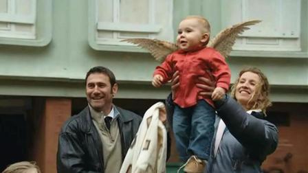 宝宝后背长出翅膀, 妈妈害怕失去他, 爸爸要用他去赚钱