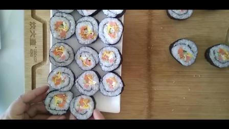 [寿司]紫菜包饭的做法 操作简单 美味可口