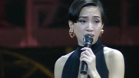 梅艳芳演唱《回头已是百年身》, 唱到后面哭了