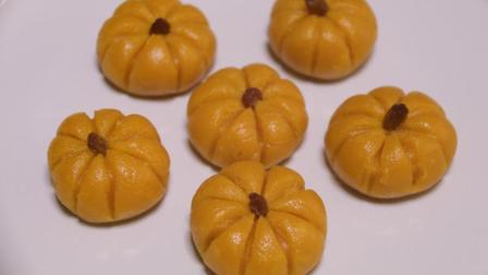 南瓜饼的新做法, 不用油炸更健康, 口感软糯, 味道香甜