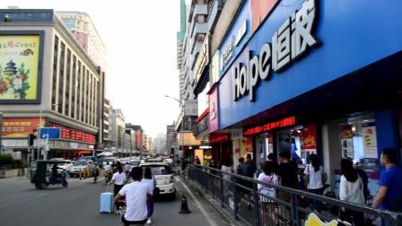 实拍深圳布吉街, 是深圳最有名的步行街, 太繁华了