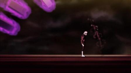 龙珠超: 破坏神出手攻击参赛选手, 悟空慌忙躲避, 唯有吉连纹丝不动