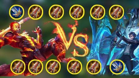 王者荣耀: 猴子vs铠 究竟谁才是暴击之王 一刀流与猴三棒谁更强