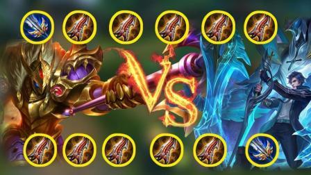 王者荣耀: 典韦vs凯 双方都是极限的物理攻击下 究竟谁更强