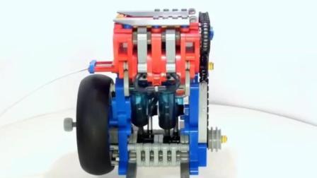第一次见这么精巧的小发动机, 就是好像有点动力