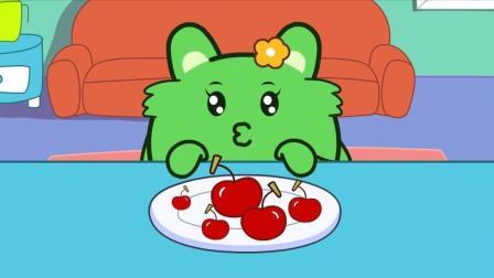咕力咕力丫米果: 咕力想吃最大的樱桃 小游戏