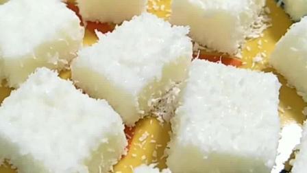 1盒纯牛奶, 1勺白糖, 教你简单做出来这样的甜点, 孩子最好的零食!