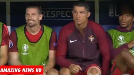 原来足球也可以幽默和搞笑的, 看看梅西的一个失