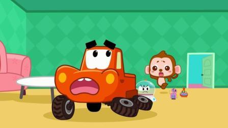 宝宝巴士绘本故事 第5集 疯狂逃跑的玩具