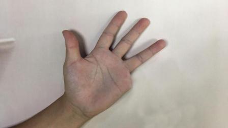 手指消失又瞬间出现简单但没几个人能做到