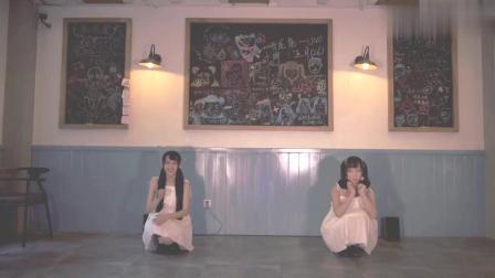 美女校花组合首次合作献舞, 双双仙女裙装扮, 每一个动作都好甜!