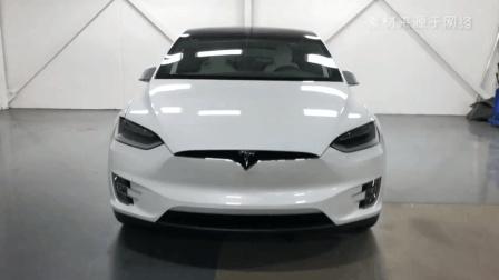 特斯拉Model X堪称史上最强最颠覆的SUV, 采用鹰翼门设计, 辨识度极高