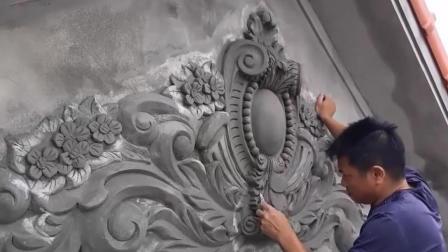 中国牛人仅凭一把抹子刻浮雕, 这年头没点美术功