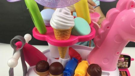 玩具零食售卖机 宝宝糖果蛋糕售卖机 儿童玩具冰激凌零售机