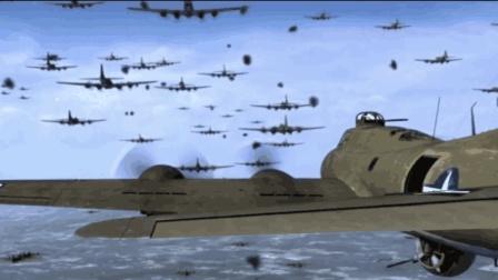 一部非常过瘾的空战电影, 整个天空密密麻麻全是飞机, 非常震撼