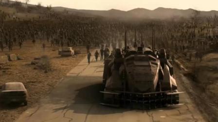 好莱坞末世科幻战争巨制, 人类和变异群体展开了终极大战