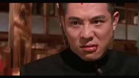 精武英雄: 陈真对战日本武士藤田, 打斗招招致命, 真功夫啊!