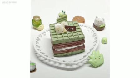 纸粘土蛋糕教程