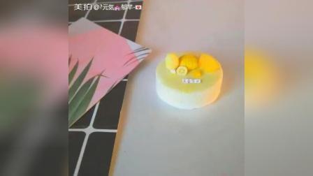 芒果冰淇淋蛋糕教学