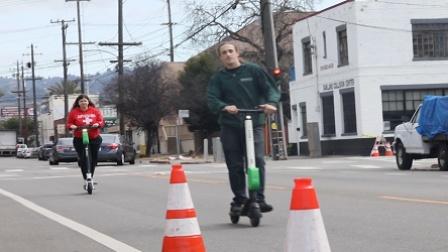 为滑板车充电成为新赚钱方式