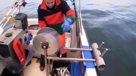 老外的这种捕鱼方法不错啊! 省时又省力摇摇轮子