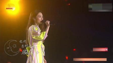 田馥甄现场演唱《小幸运》, 唱到最后台下的何炅李维嘉听哭了!