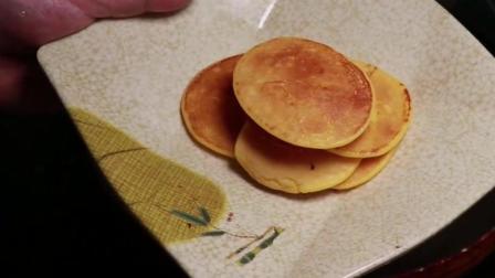 1个鸡蛋, 1盒酸奶, 1把面粉, 教你鸡蛋饼新做法, 这早餐宝宝爱吃