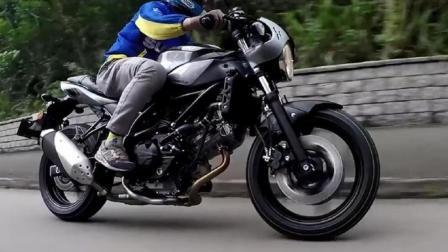 海外售价5.3万元的铃木SV650X摩托车, 最佳复古车型, 值得你购买