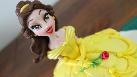 一次看懂公主翻糖做法, 分分捏出公主脸部, 所有公主蛋糕都会做!